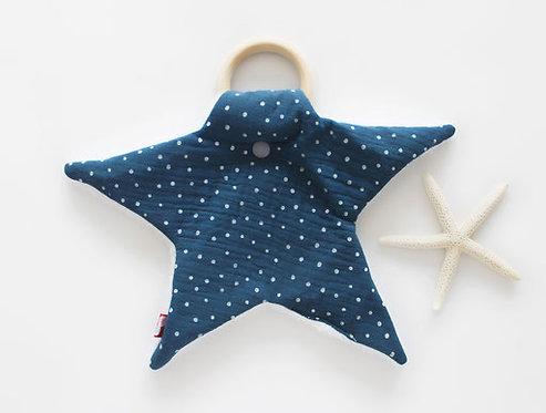 Stern mit Beiß-Greifring Punkten