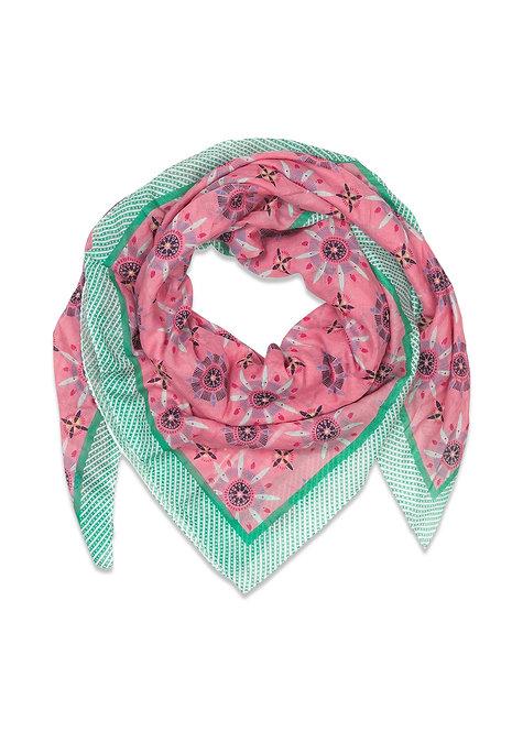 'Elmer' Schal, Genarium Pink