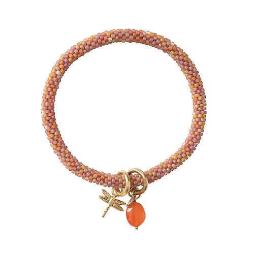 Carnelian Goldfarbenes Armband