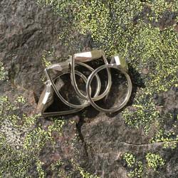 Geode rings in their natural habitat
