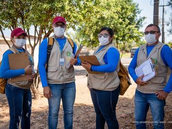 Prefeitura intensifica ações de prevenção e combate ao mosquito Aedes nos bairros de Boa Vista.