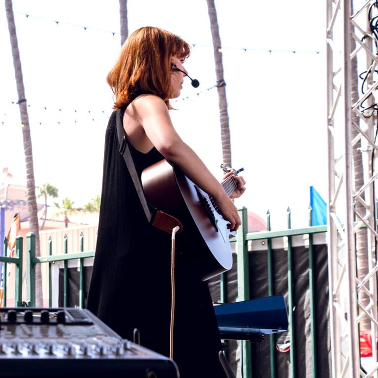 Shelby Sanborn at the San Diego County Fair 2019