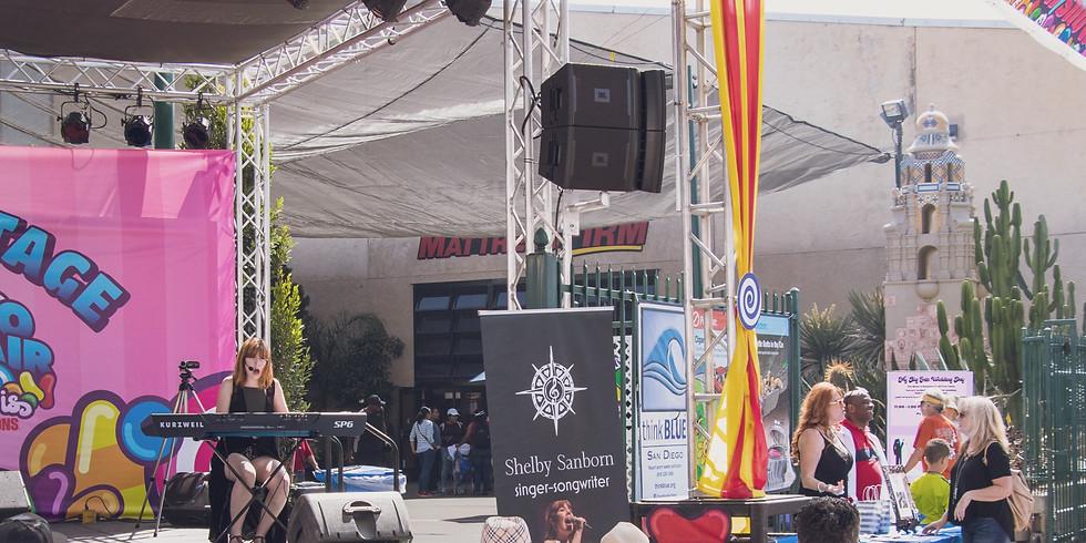 Shelby Sanborn at the San Diego County Fair