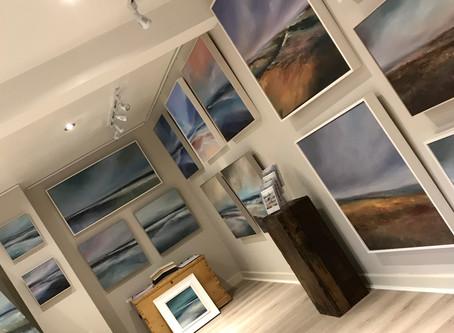 New Studio and Gallery progress...