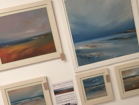 Latest Paintings now available to view and buy in Ora Gallery • Sheffield