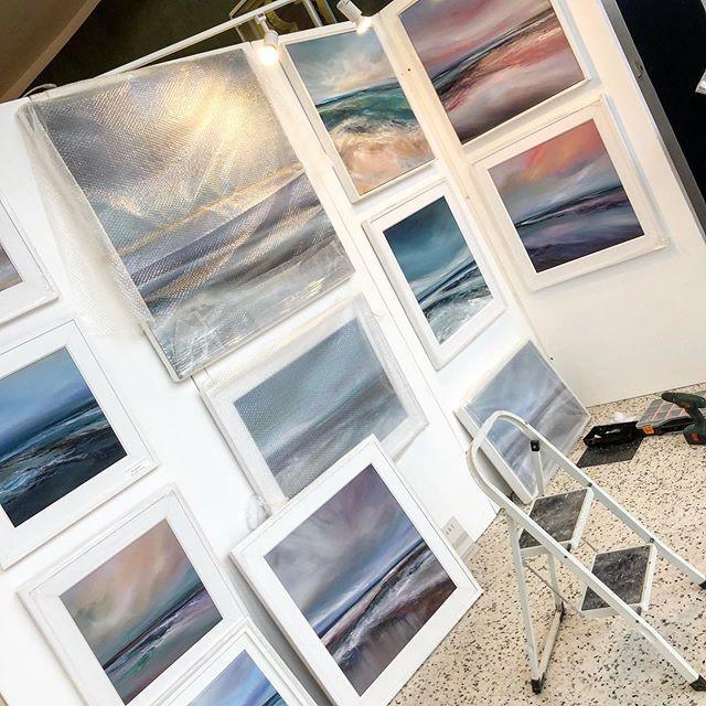 Set up at art & York