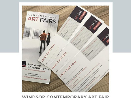 Free preview tickets - Windsor Contemporary Art Fair