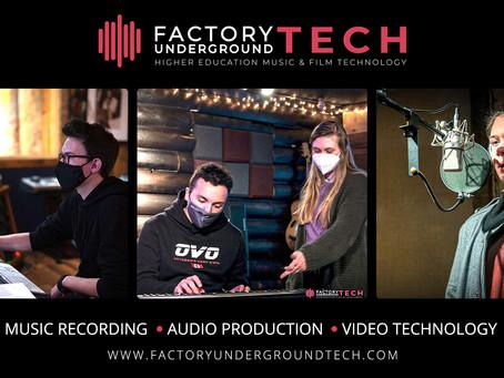 Factory Underground Tech School of Music Recording