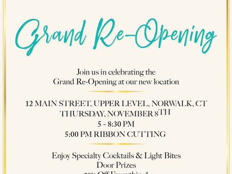 House of Katia: Grand Reopening in Downtown Norwalk! Thu Nov 8