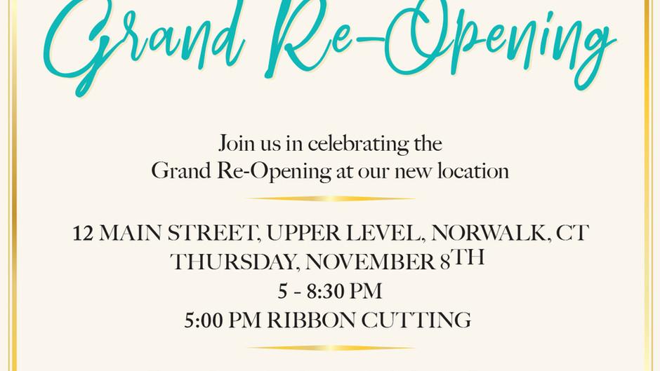 House of Katia: Grand Reopening in Downtown Norwalk! Thu Nov 8