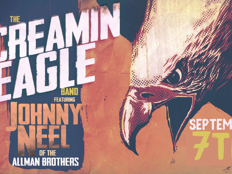 Screaming Eagles Band w/ Johnny Neel of Allman Brothers w/ Dirt and Impulse CT at WST Sept 7