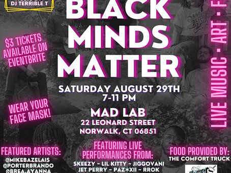 PARTY OF ALL Presents: Black Minds Matter @ MAD LAB