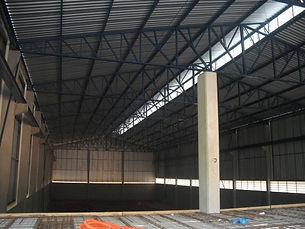 Construção barracão - Lajes Brasil