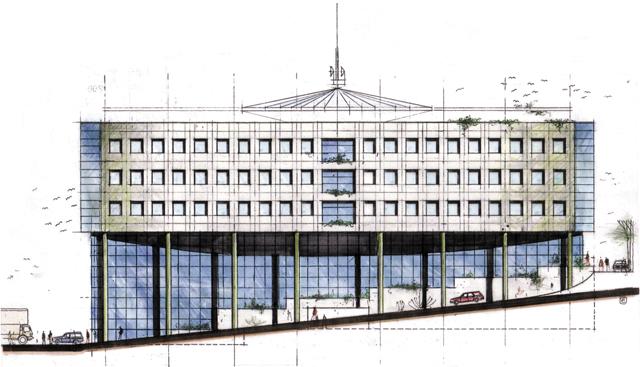 IBM Building - Compition