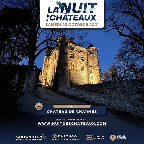Nuit des Châteaux de Charmes