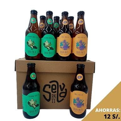 12 pack cervezas artesanales