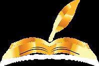 —Pngtree—golden book open book cartoon_3
