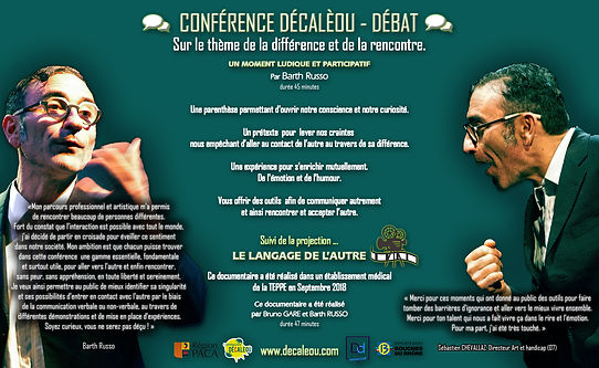 Affiche conférence Décalèou