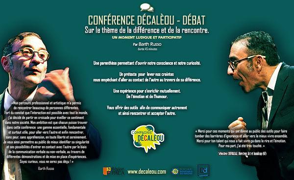 Affiche conférence Décalèou lycéens