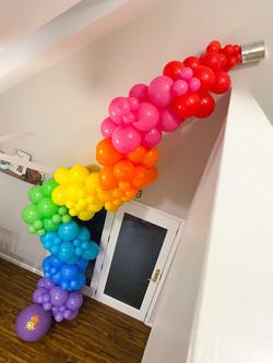 Rainbow Paint Can Orangic Garland