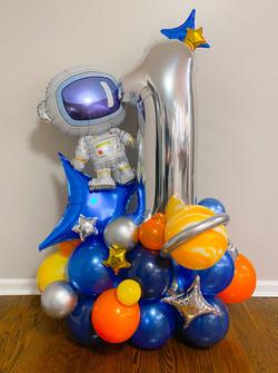 Astronaut Birthday Arrangement