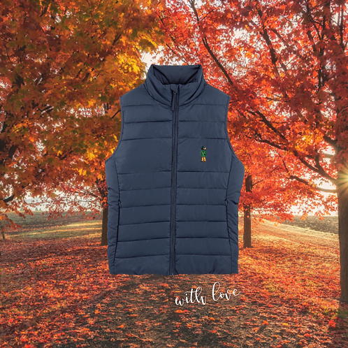 TECKEL BODY WARMER NAVY (for him)
