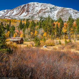 Cabin in Hope Valley in Fall
