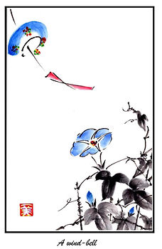 #7. Sumi-e, __A wind-bell__.jpg