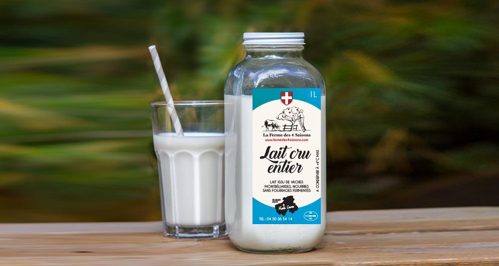 Etiquette de lait
