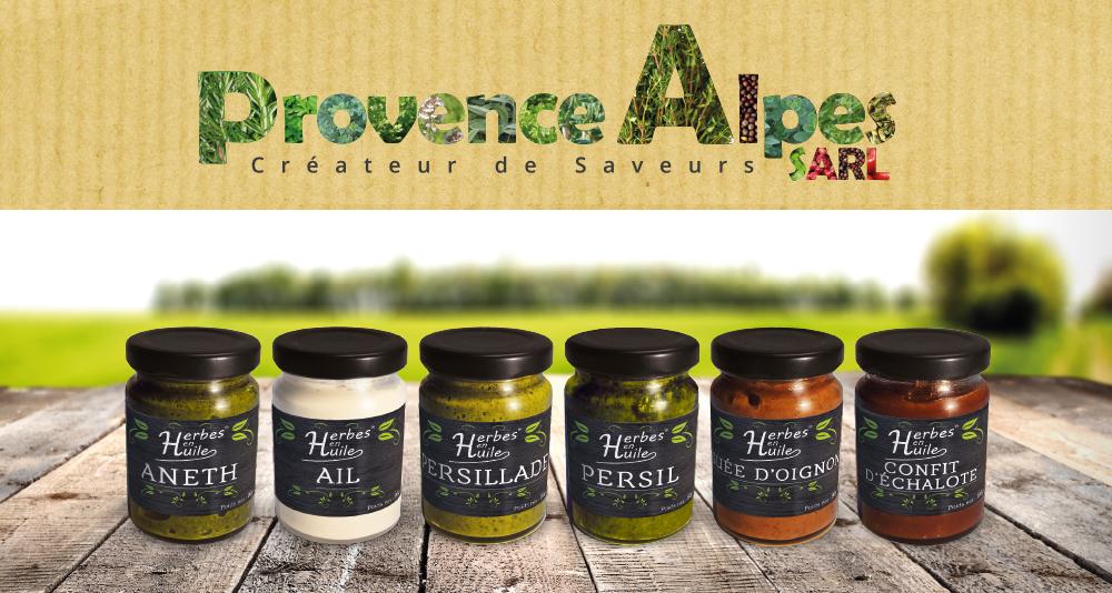 Création des packaging de sauce