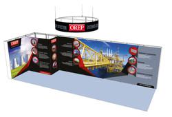 3D stand Rétro-éclairé 2021_OREP