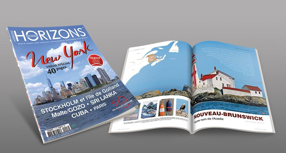 Magazine Horizons Monde