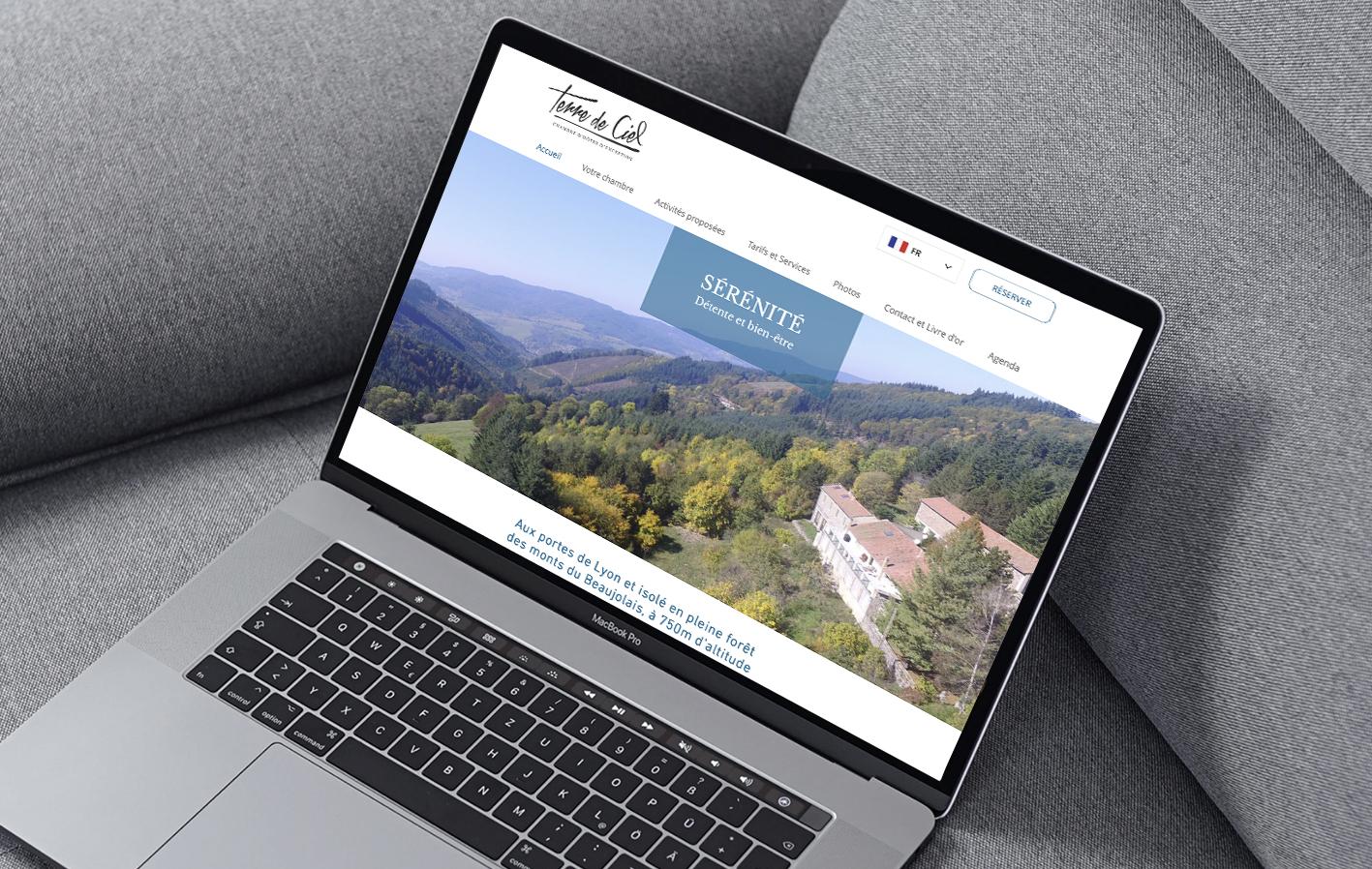 Site Web Terre de Ciel