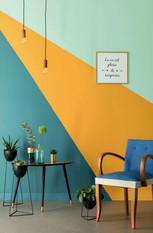 Sterke farger og enkle former