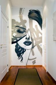 Street Art og subtil fargepalett