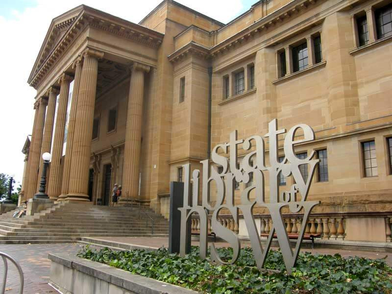 Touring the Past - State Library of NSW, Historical Assessment History and Research