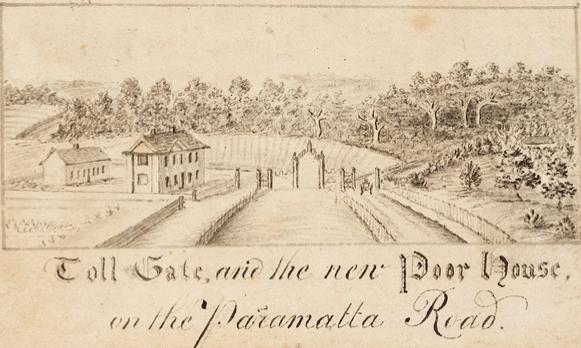 Historical sketch Parramatta