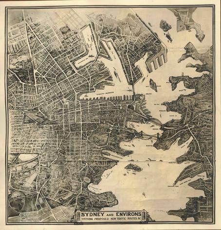 Old Sydney Map
