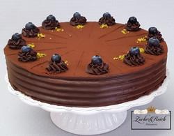Mocca-Canache Torte, vegan