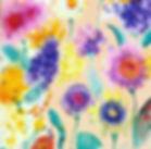 Mixed Media Florals Watercolor Acrylic J