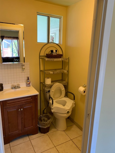 Accessible toilet for Seniors
