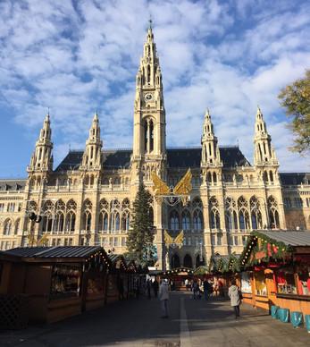 Feirinhas de Natal em Viena