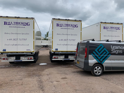 New trailers for Ball Truckin