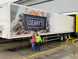 Ball Truckin continues partnership with Geary's Bakery during growth