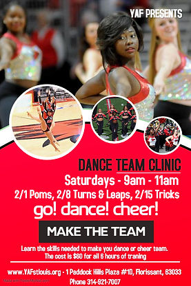 Dance Team Clinic - Made with PosterMyWa