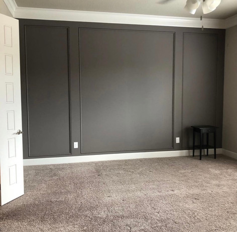 Accent Master Bedroom Wall