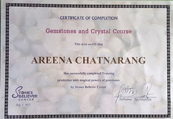 crystal certificate
