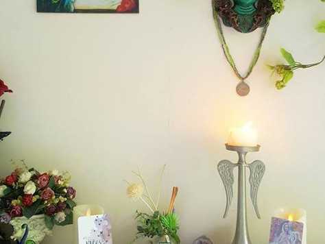 Altars and Creating sacred space for manifestation