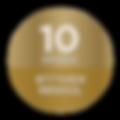 Η Εστία Ελ Γκρέκο® Micro έχει (10) δέκα χρόνια εγγύηση