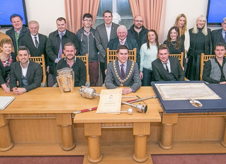 Mayor Honours The Kilkennys